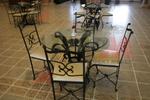 мебели от ковано желязо,подходящи и за навън