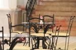мебели от ковано желязо за открита тераса