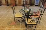 мебели от ковано желязо за дома и градината